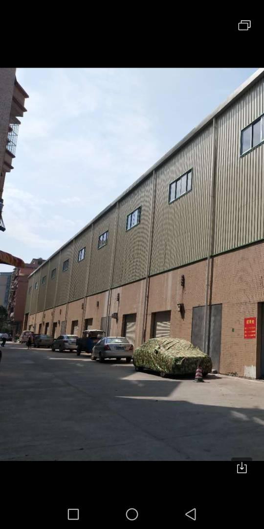 大朗工业用地红本厂房单一层一万平方房租16