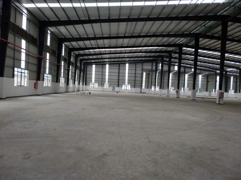 园洲镇新建钢结构加铺面总面积8587平方米(可以任意分租)