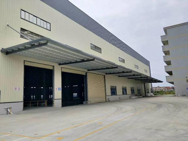 东莞新出物流仓钢结构2层2台5吨货梯带准丙二类消防