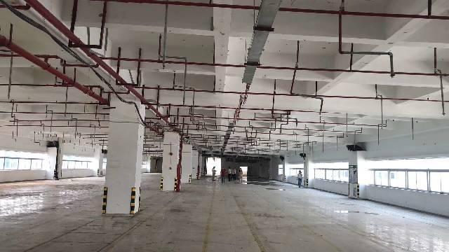 东城新出带喷油环评厂房, 1-4层6000㎡,有VOC排放指