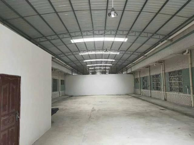 万江简沙洲新出500平钢构靠近大路非常适合做仓库,小加工