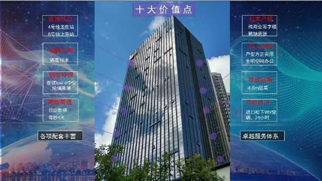 龙华龙信地铁站300米276㎡甲字楼