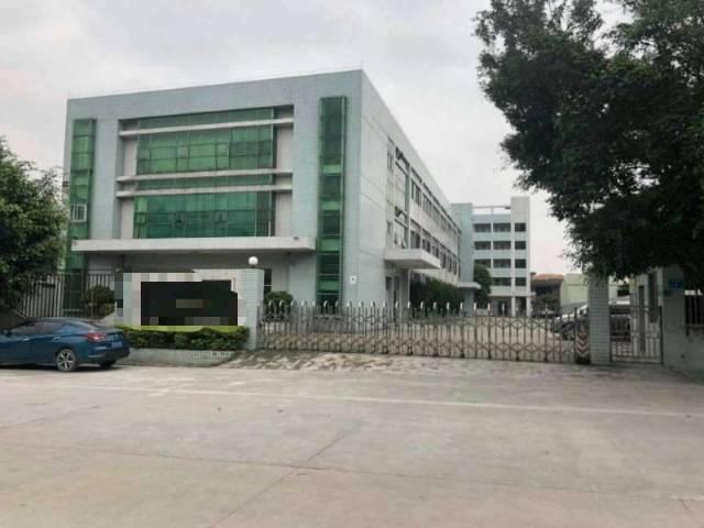 东莞高埗新出独门独院厂房厂房1-3层5300平方宿舍2000