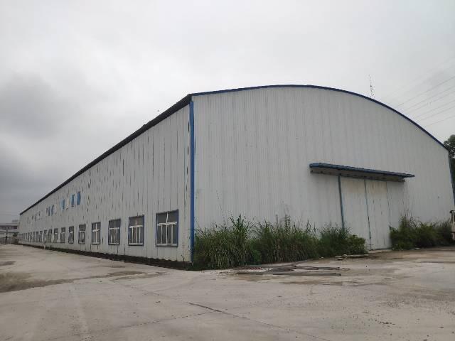 惠城博罗区域独院钢构厂房11米高,长度一百多米,带两台行车