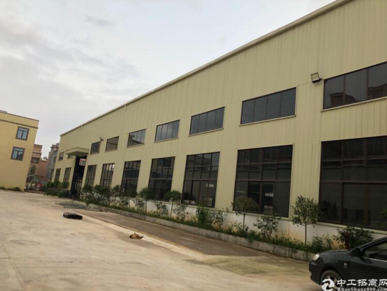 石湾超靓工业园区厂房分租一楼1680平方,铁皮300平方,