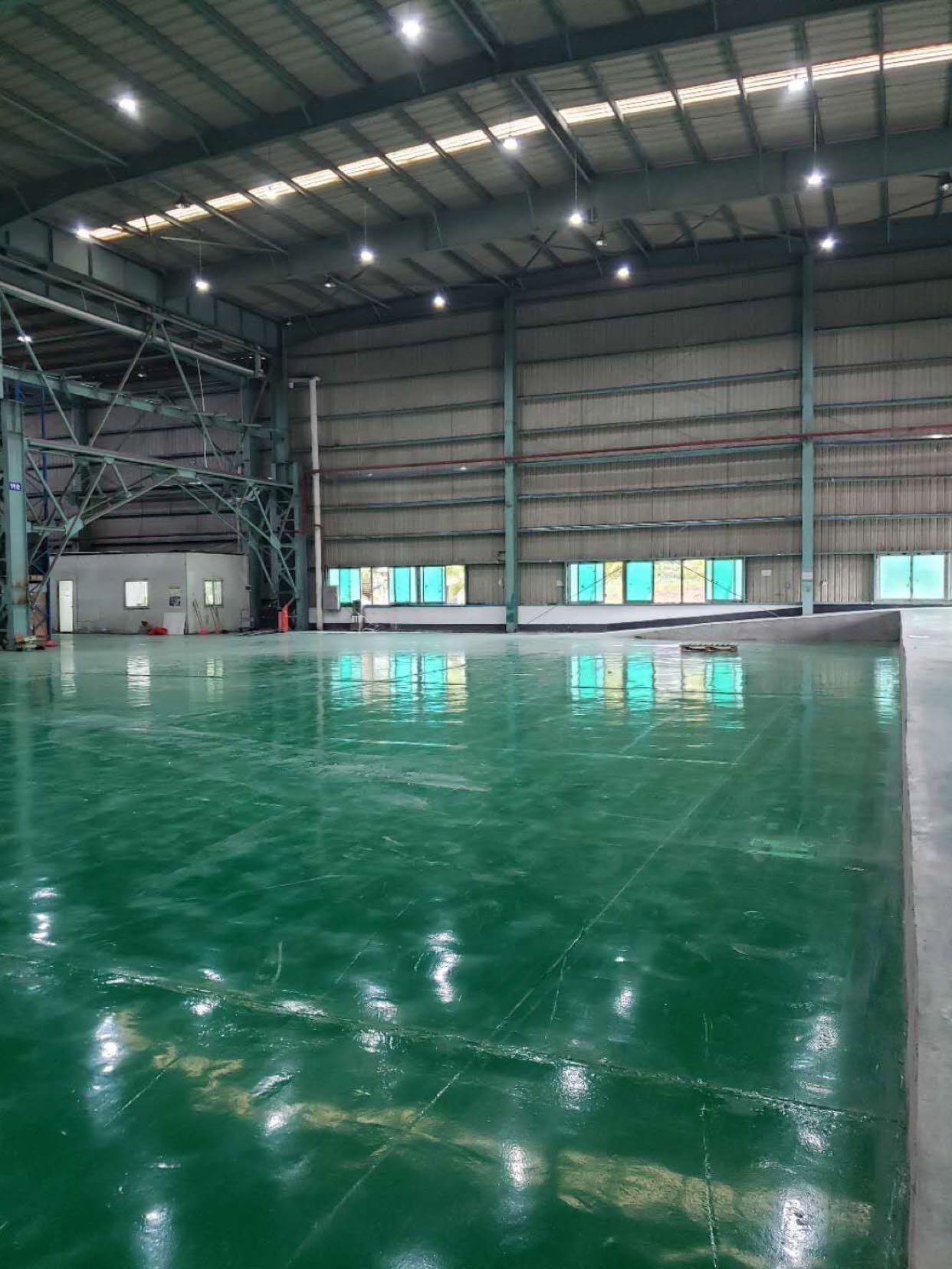 开创大道新出一楼钢构仓库350平现成办公室水电