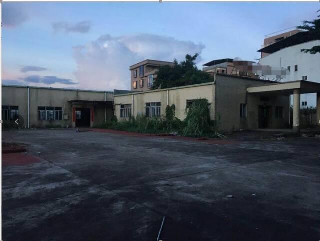 谢岗镇占地3680㎡建筑3020㎡租地合同厂房出售