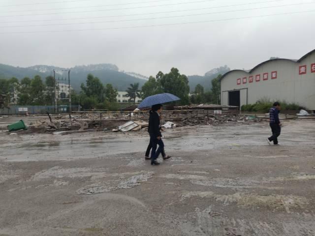 博罗县新出带抽粒,破碎,洗水,塑料环评厂房