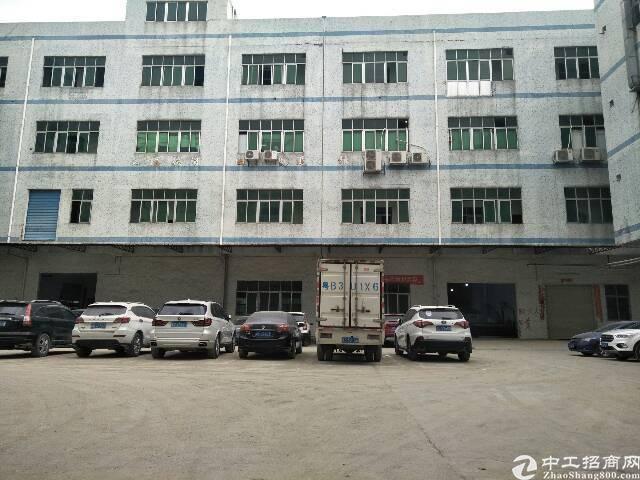 龙岗区横岗横坪公路独院标准厂房二楼1300平方招租