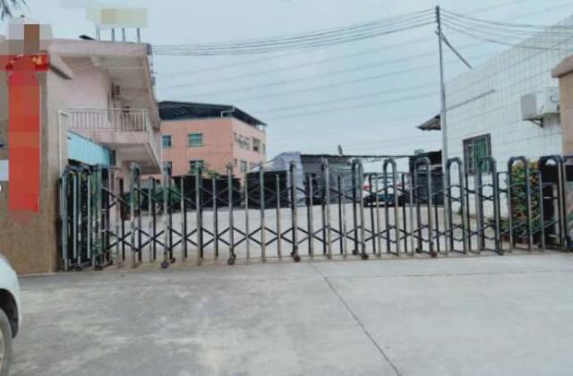 谢岗镇占地5800㎡建筑4700㎡钢构厂房出售