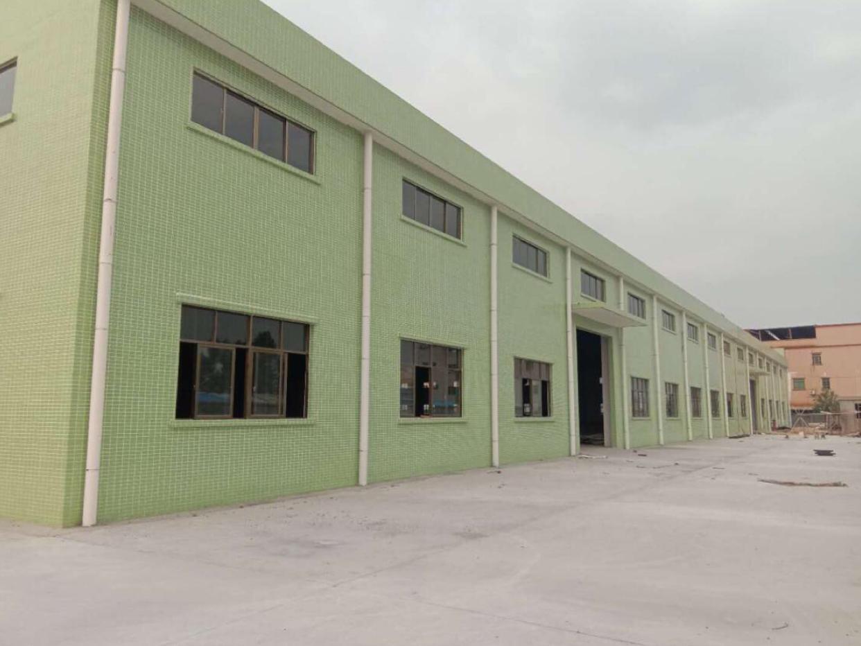 惠州新建钢结构加铺面总面积8587平方米