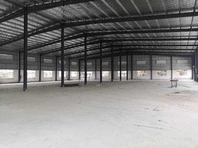 空地超大的钢构厂房,6000平空地7000平,13块出租