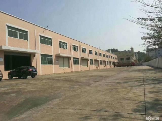 凤岗金凤凰9000平米标准物流仓库出租整排卸货平台空地超大