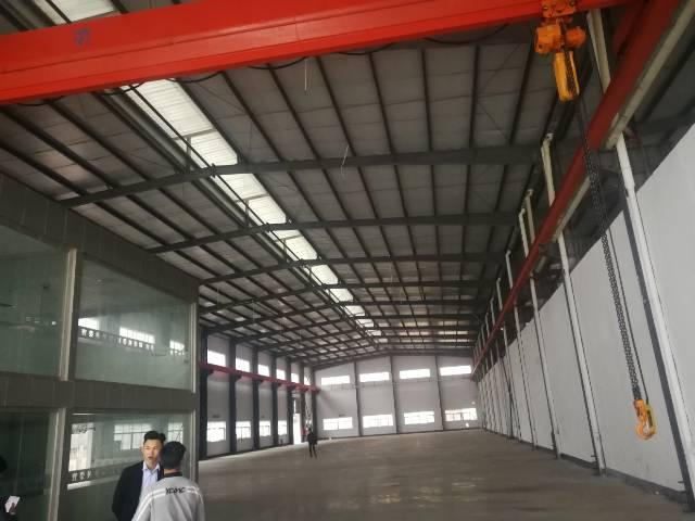 福永新和靠机场2800平方钢构出租