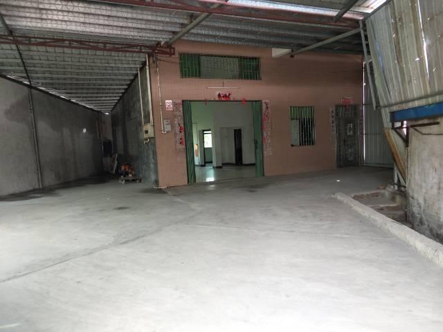汝湖镇新出一楼铁皮房出租面积330
