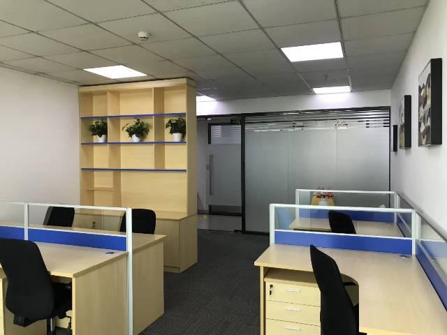 深圳北,观澜地铁口高端国际大厦精装办公室,物业直租
