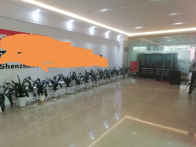 福永107国道旁新出楼上1500平方豪华装修厂房招租