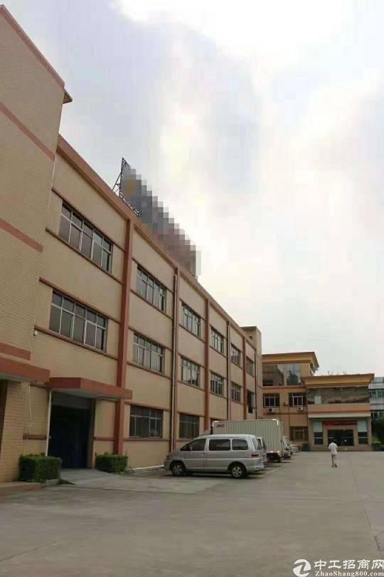 樟木头二楼1080平标准厂房原房东可环评出租