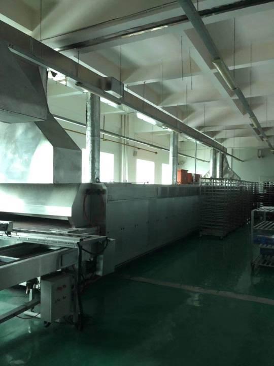 茶山镇现成食品厂房,现成的食品机械配套,客户实用,可提供给客