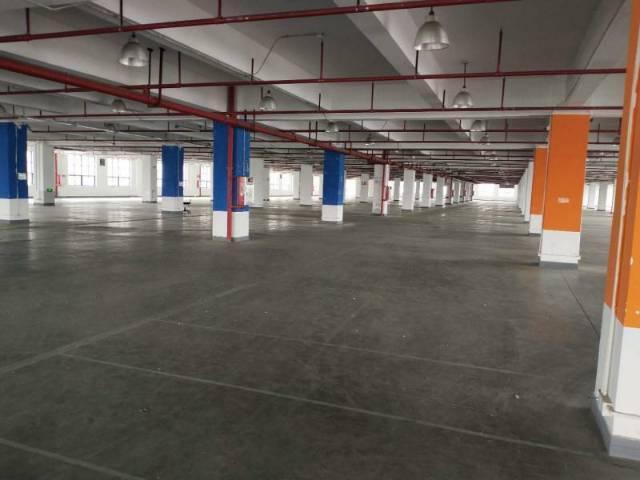黄埔荔联花园式厂房楼上3800平米厂房出租