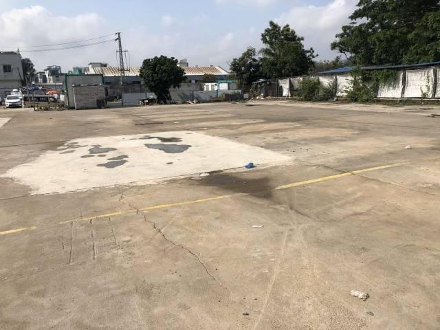 沙井高速入口附近适合做停车场,驾校,仓库堆货等场地招租