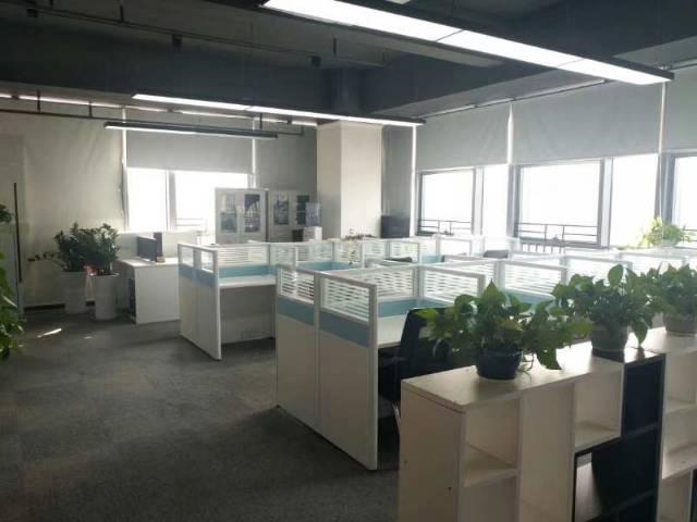 横岗六约地铁站600平精装修办公楼出租