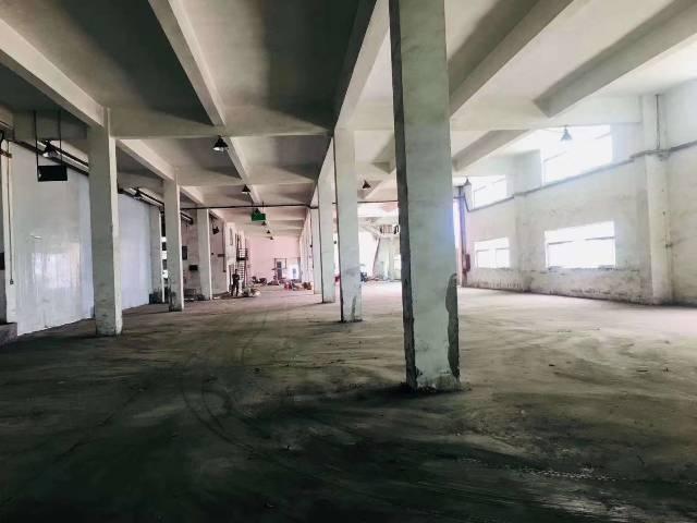 沙井宝安大道靓盘推荐10米高带阁楼带牛角2顿货梯配电充足钢构