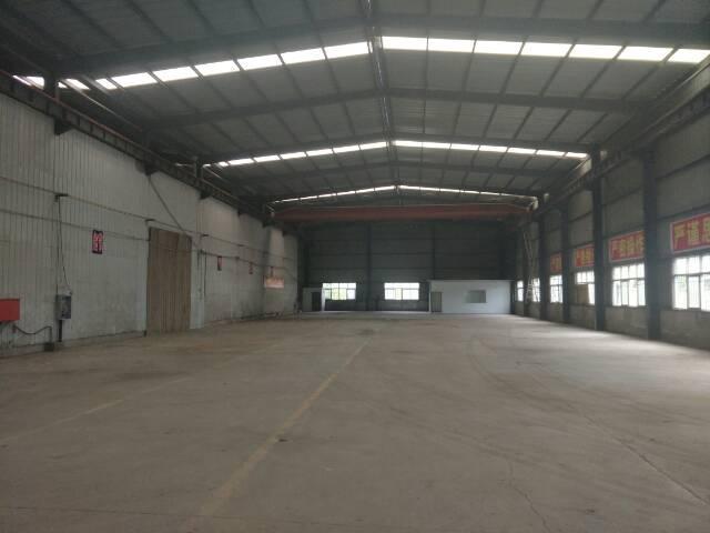 黄陂汉口北1300平米钢结构厂房,带五吨行车。配套齐全