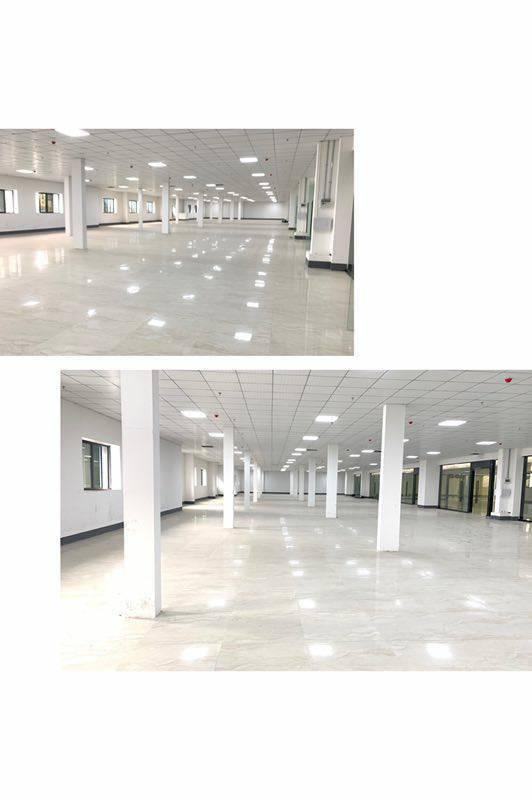 广州市黄埔鱼珠地铁口200平精装修写字楼出租、大小可分