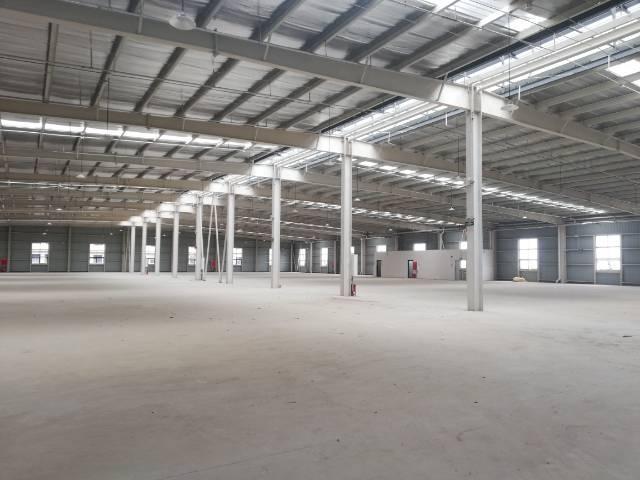 租售单侧、双层厂房面积大小可分
