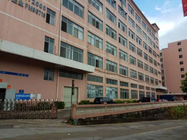 西乡洲石路边一楼标准厂房500平,800平,2000平米出租