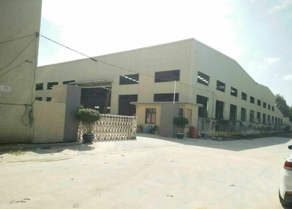 独院钢构厂房出租8000平米,滴水7米,有宿舍办公,可分租