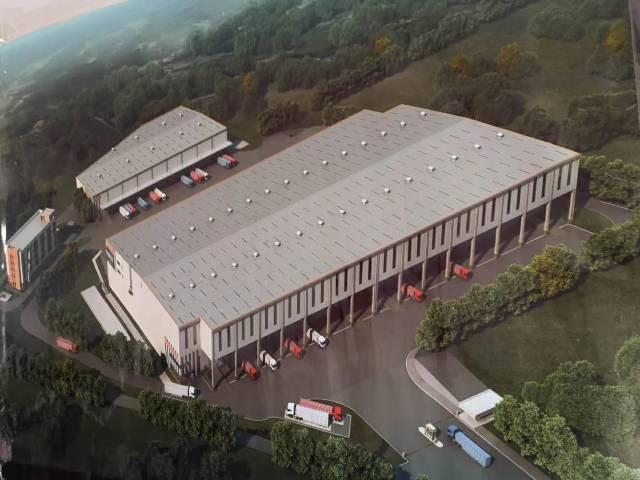 广州徐广高速附近新出30000平方标准物流仓库