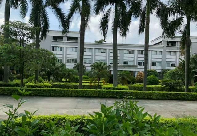 松岗东方花园式独院1-3层4800平方厂房出租带豪华装修