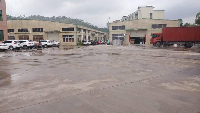 惠阳秋长维布现成喷油房钢结构招租1250平米