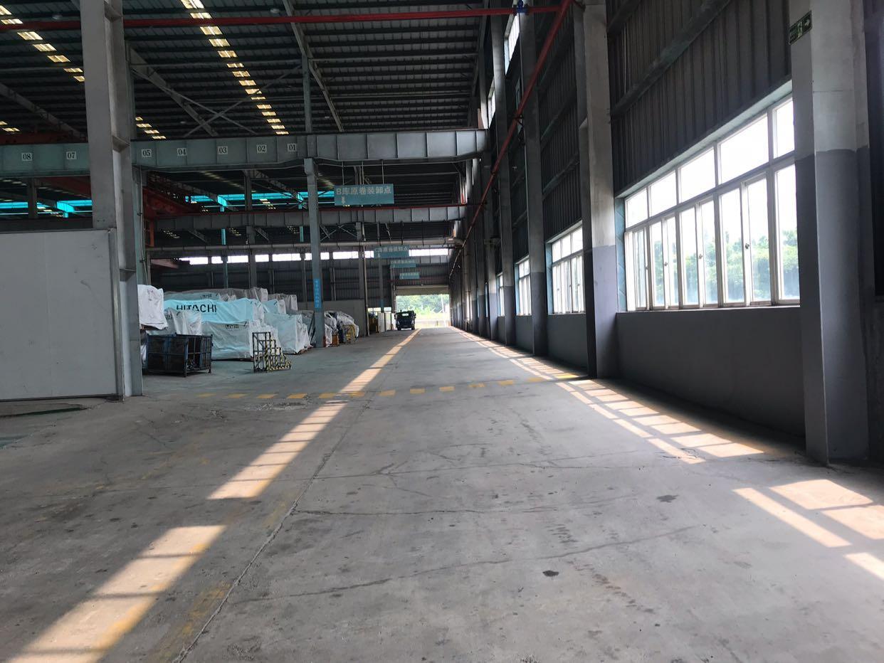 黄埔区东区大型工业区带25吨行车,单一层钢构万博app官方下载6500招租-图5