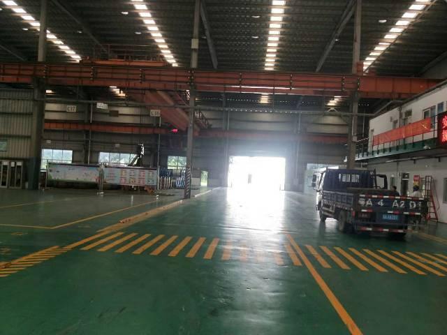 带地坪漆钢结构厂房出租带现成20吨的行车