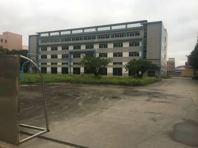 广州占地40亩建筑14500㎡国有双证可按揭厂房出售