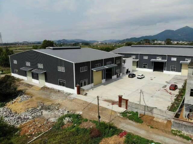 镇隆镇高速长龙出口500米单一层独栋厂房出租1100平