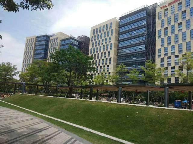 松岗带空调红本写字楼480平方原房东写字楼出租图片1