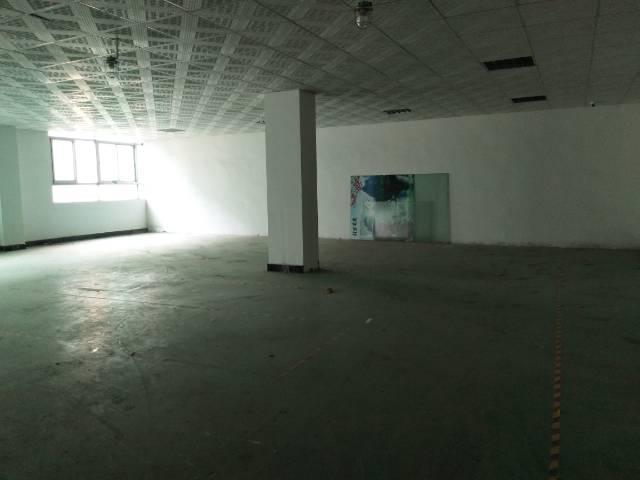 松岗燕川广田路边楼上整层1500平带装修厂房出租