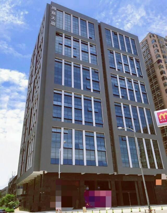 长安镇轻轨站附近全新写字楼.6000平方.大小分租