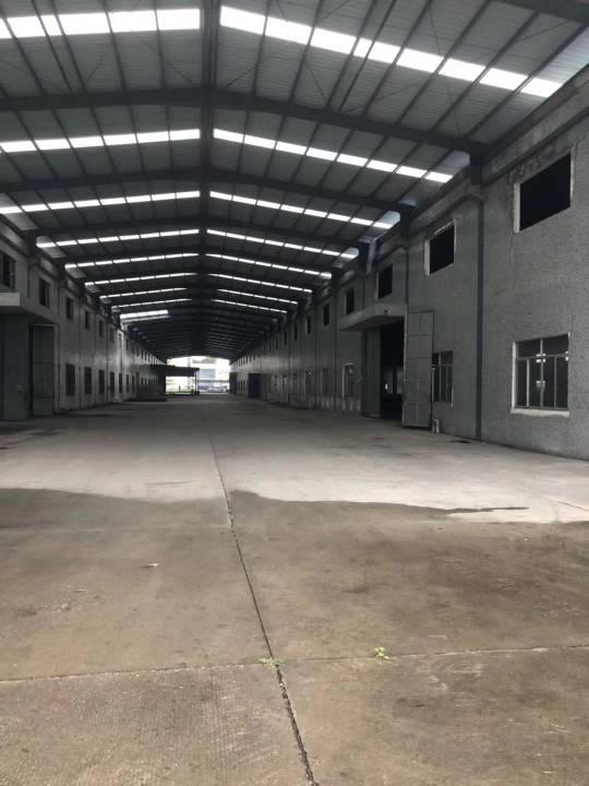 广州花都区单一层20000方钢构厂房招租