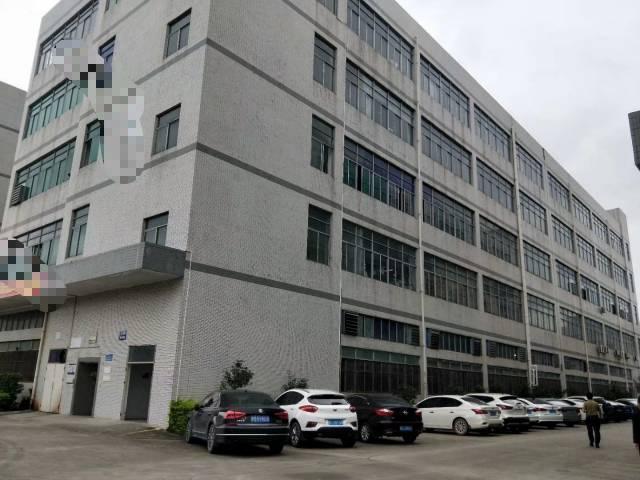 沙井高新产业园楼上带精装前台办公室装修花园式厂房