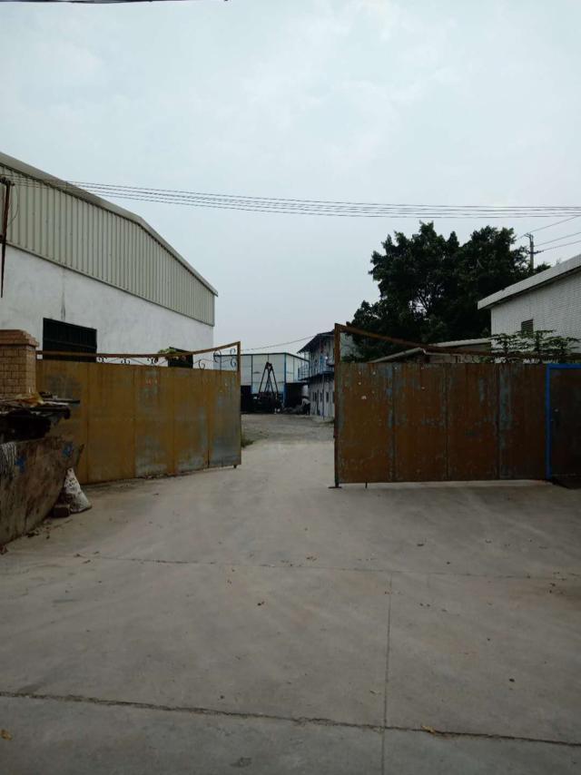 石排镇独院单一层400平方钢构厂房出租,空地大