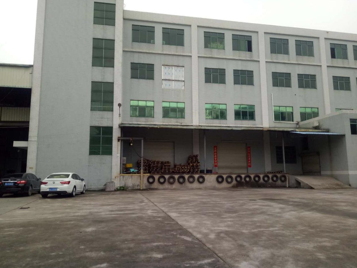 石排标准厂房一楼二楼出租,带消防喷淋,现成行车,现成有卸货平