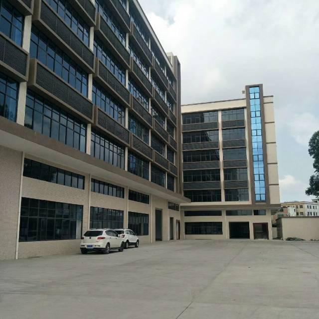 原房东出租独栋标准厂房六层14400平带无尘车间