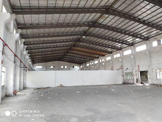 东部快速路边2250平米钢结构厂房出租滴水10米带牛角