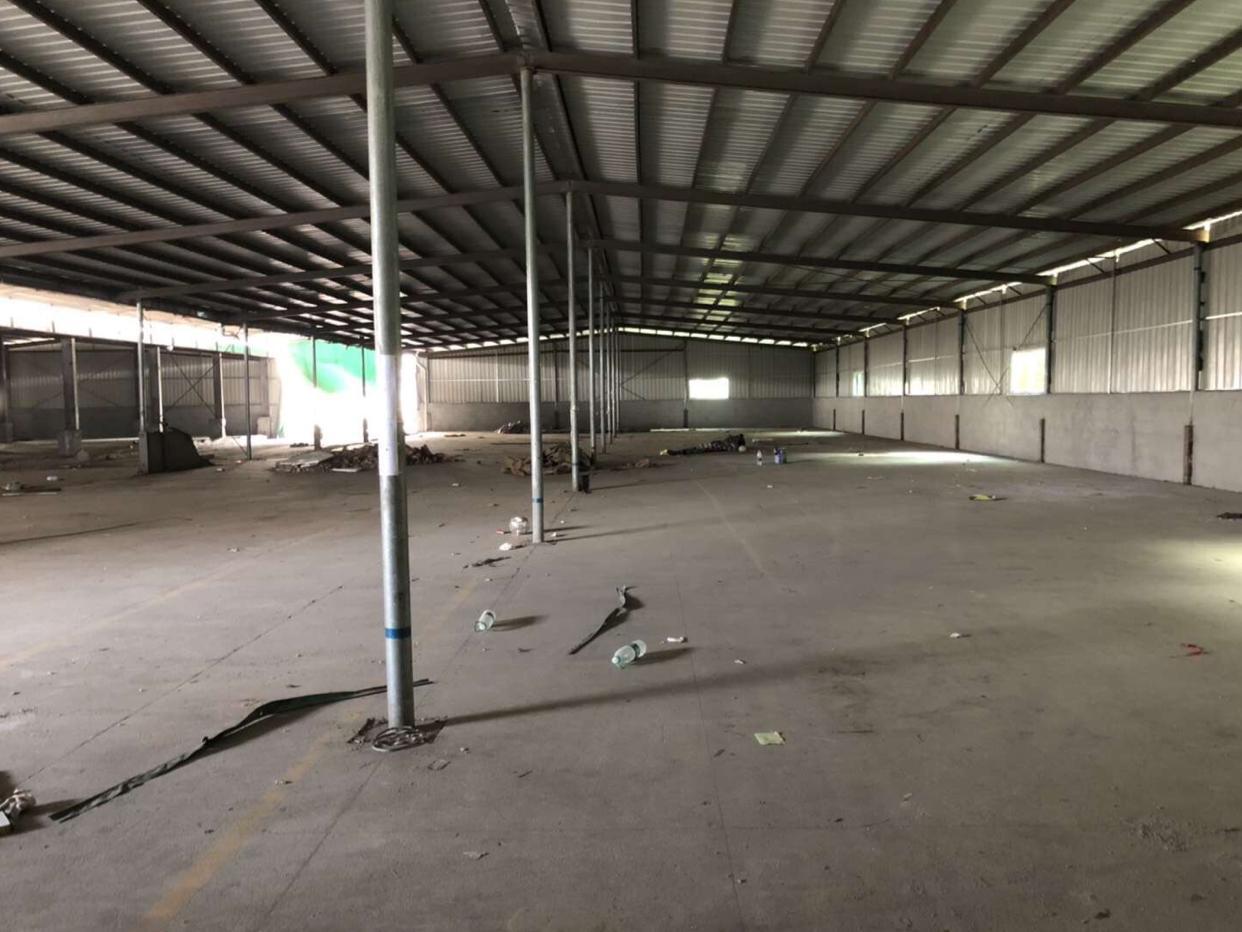 超大空地标准园区安全可靠1100平钢构仓库出租