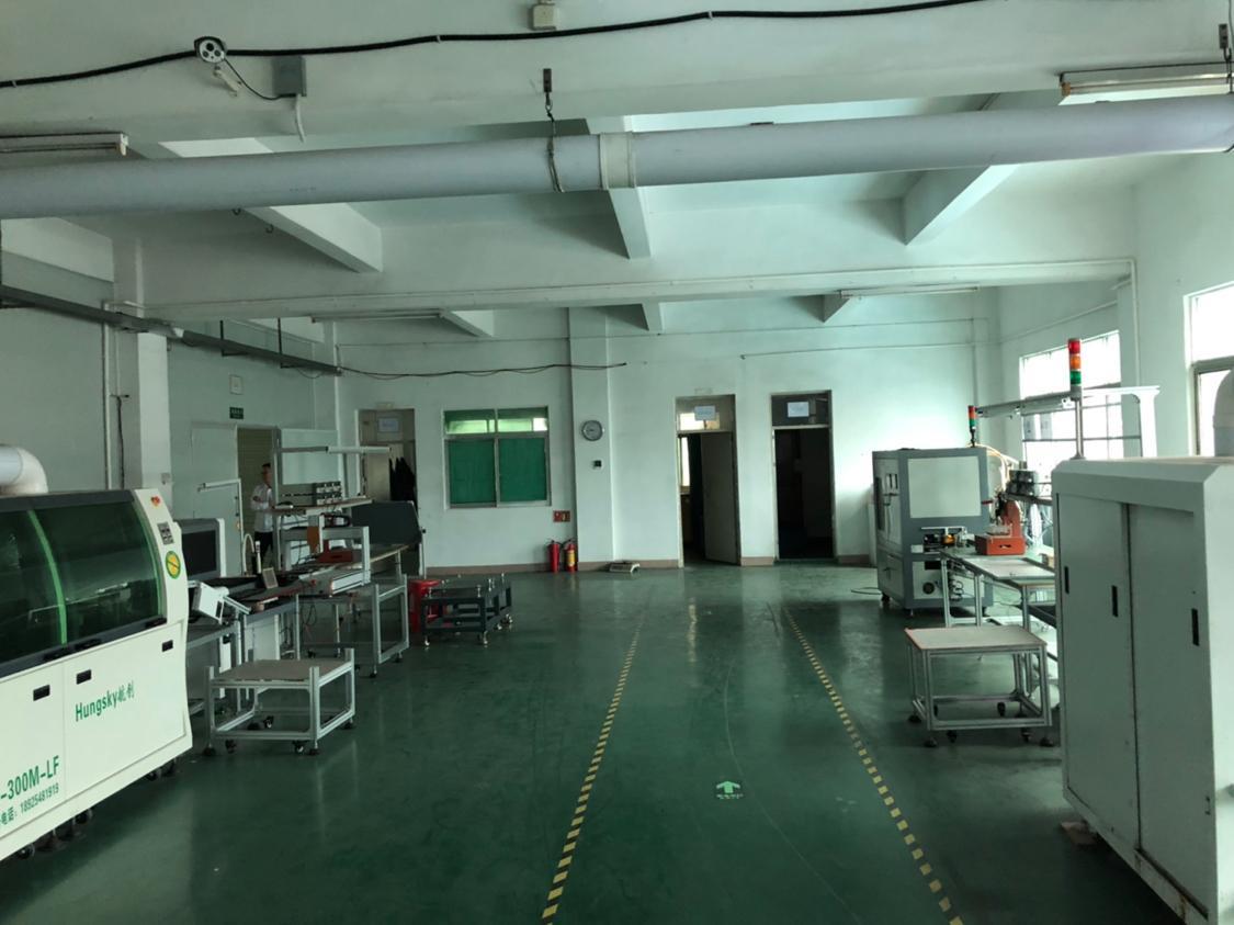 寮步租客分租二楼750平米带精装修标准厂房